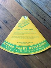 Vintage Kodak Handy Reflector Model C - For Pictures At Night - Mazda Photoflash