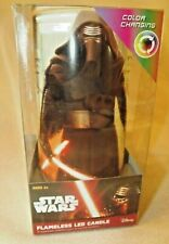 Kylo Ren & Imperial Stormtroopers Star Wars LED Candle Color Changing Light NEW!