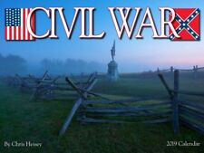 CIVIL WAR - 2019 WALL CALENDAR - BRAND NEW - HISTORY 2215