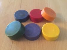 6 Pack Soap Colours - Pink, Yellow, Green, Blue, Purple, Orange.  Dye Blocks