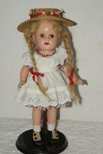 "GORGEOUS! Vintage MA 13"" Princess Elizabeth McGuffey Ana Tagged Composition Doll"