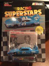 Racing Champions Pete Hamilton #40 Stp Plymouth w/Card & Display 1:64th 1991