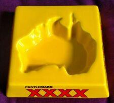 More details for castlemain xxxx australia shaped indent ceramic ashtray castle associates rare