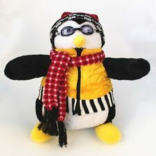 "TV Series Joey's Friends HUGSY Plush PENGUIN Rachel Stuffed Doll Toy 18"" Cute"