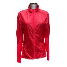 Mens adidas running training top jacket red adizero lightweight Size medium