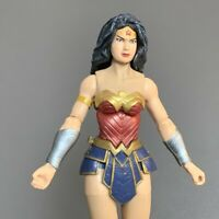 "Rare DC Comic Justice League Wonder Woman 6"" Action Figure Model Collection Toy"