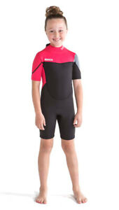 Jobe Boston Shorty 0 3/32in Hot Pink Wet Suit Child Waveriding New Surfing J19