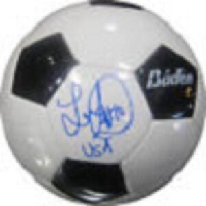 Landon Donovan signed inscribed #10 usa soccer ball holo coa & picture signing