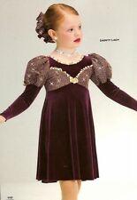 Dainty Lady Dance Costume Christmas Dress and Scrunchie Art Stone Child X-Small