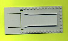 Lego--820--Grundplatte--Garage--alt--8 x 18--Grau/OldGray--rarität--