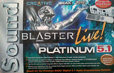 Creative Soundblaster Live Platinum 5.1 NEW BOXED