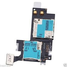 Sim memory card reader tray slot holder flex for Samsung Galaxy Note 2 II N7100