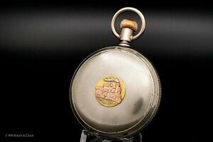 Very Rare Elgin Grade 368 G.M. Wheeler 18s 17j Hunting Case Pocket Watch