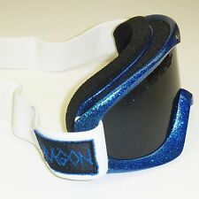NEW Dragon DX Snow Goggles-Hog Wild (Blue Metalic) Frame/Eclipse & Rose Lenses