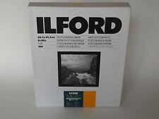 ILFORD MGIV RC DELUXE 8x10 satin 100 papier chambre noire