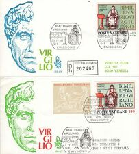 Vaticano 1981 FDC Venetia Club Bimillenario Virgiliano (E)