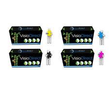 4 Toner cartouche  pour HP Color Laserjet 1600 2605 CM1015MFP 124A