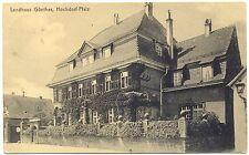 Hochdorf - Pfalz, Landhaus Günther, 1916