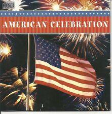 AMERICAN CELEBRATION INSTRUMENTAL PATRIOTIC RELAXATION MUSIC CD