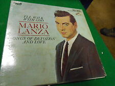 """Vintage LP- """"I'll Walk With God"""" by MARIO LANZA Songs of Devotion and Love"""