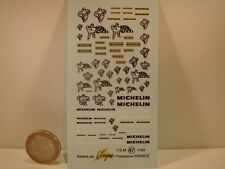 "DECALS 1/43  "" MICHELIN "" - VIRAGES T47"