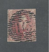 BELGIUM # 5 ( Thin Paper ) Used KING LEOPOLD I   ( 5020 )