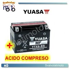 BATTERIA YUASA CON ACIDO PER SYM HD 200 E3 IE 2006 2007 2008 MOTO SCOOTER