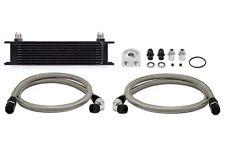 Mishimoto Universal 10 Row Oil Cooler Kit - Black