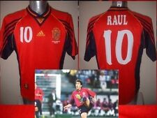España España Raul Camiseta Jersey Fútbol Adidas Adulto Grande Real Madrid