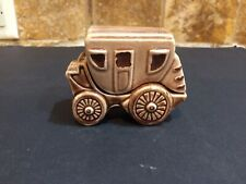 Vintage Stacking Stagecoach Japan Salt And Pepper Shakers