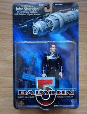Babylon 5 1997 Captain John Sheridan Action Figure in Earthforce Uniform