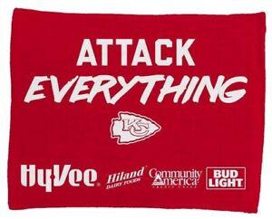 KC Kansas City Chiefs Kingdom SGA Rally Towel Attack Everything Patrick Mahomes