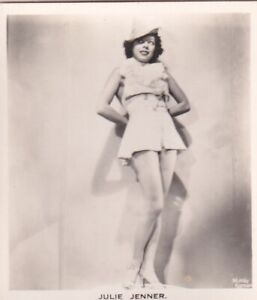 JULIE  JENNER - carreras  MOVIE film stage PIN-UP/CHEESECAKE 1939 cig card