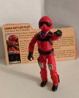 Vintage GI Joe ARAH 1984 Wild Weasel Complete Great Condition with File Card