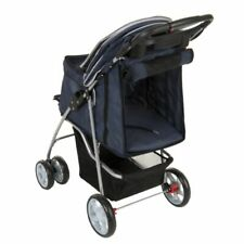 Pet Stroller Sporty Small Dog Transport Comfortable Foldaway Sturdy Robust