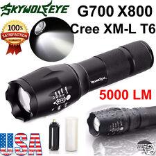 G700 X800 ShadowHawk 5000LM Flashlight CREE XM-L T6 LED Military Torch Lamp US