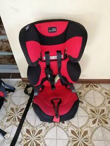 Britax Safe-n-Sound Hi-Liner SG Car Booster Seat - Black/Red with Harness