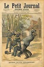 GENDARMERIE DE Suze-la-Rousse GENDARME BRIGADIER NATIVEL BANDIT BOISSIN 1891