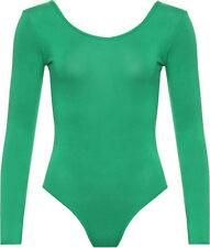 Magliette da donna verde basici viscosa