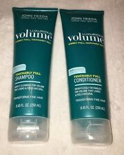 John Frieda Luxurious Volume Touchably Full Shampoo and Conditioner NEW