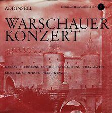 *-Vinyl-Schallplatte- WARSCHAUER Konzert -ADDINSELL- Christian SCHMITZ-STEINBERG