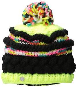 SPYDER Girl's Moritz Winter Ski Hat Chunky Knit Winter Beanie - 3 Colors