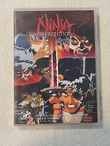 Ninja Resurrection DVD (1998) Region 4 VGC FREE POSTAGE