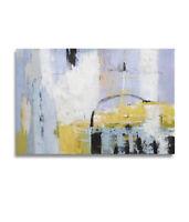 Hungryartist - NY artist - Large modern original abstract oil painting 36x24