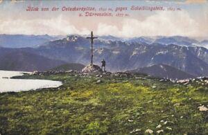 Oetscherspitze gegen Scheiblingstein und Dürrenstein glum 1910? E7754