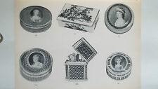 Objets de vitrine relatifs à la parfumerie principament au 18è siècle orfèvrerie