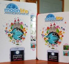 Moonlite Starter & Gift Pack  Storybook Projector for Smartphones with 7 Stories