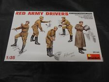MINIART 35144 1/35 RED ARMY DRIVERS PLASTIC FIGURE KIT