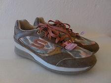 New Sz. 6 Skechers-BROWN-Women-Shoes - WEDGE-FIT-VITA-VIVERE--Sneaker