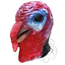 Cabeza del látex animal realista Turquía Pájaro Thanksgivings Navidad Vestir Máscara